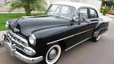 Chevrolet/gm Sedan 4 Portas Deluxe 1952 Veiculo De Coleção.