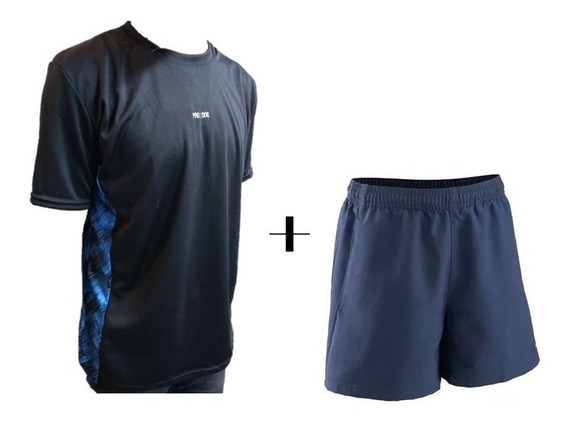Combo Deportivo Remera + Short Tenis Padel Hombre - Olivos