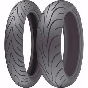 Par Pneu 120/70-17+ 180/55-17 Michelin Pilot Road 2 Fazer600