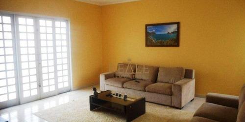 Casa Com 4 Dormitórios À Venda, 250 M² Por R$ 650.000,00 - Parque Jambeiro - Campinas/sp - Ca0973