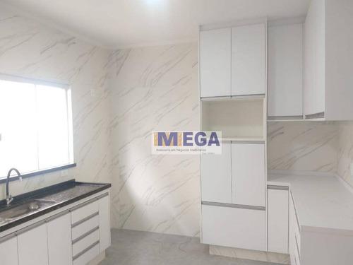 Casa Com 3 Dormitórios À Venda, 150 M² Por R$ 639.900,00 - Vila Mimosa - Campinas/sp - Ca2233