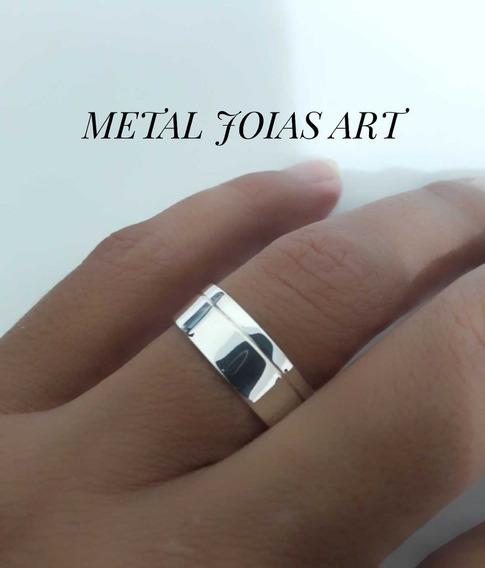 1 Aliança Prata 950 Compromisso Noivado Casamento