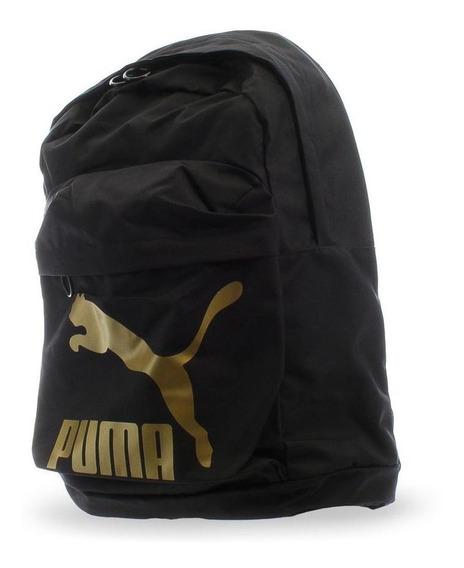 Mochila Puma Originals - 07664301 - Negro - Unisex
