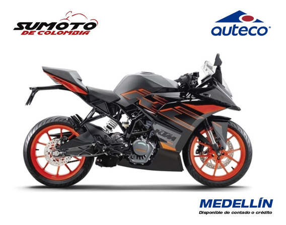 Ktm Rc 200 Black Modelo 2020 0 Kms Nueva Opción Financiada