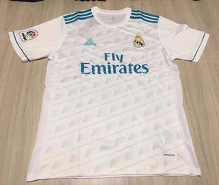 Camisa adidas Real Madrid Home 2017/18