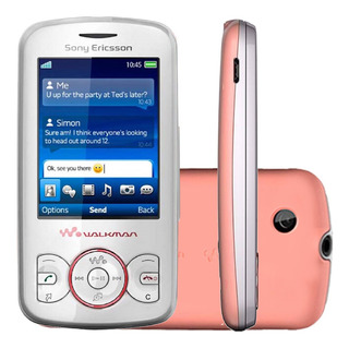 Sony Ericsson W100i Walkman 5mb Fm Branco E Rosa Vitrine 2