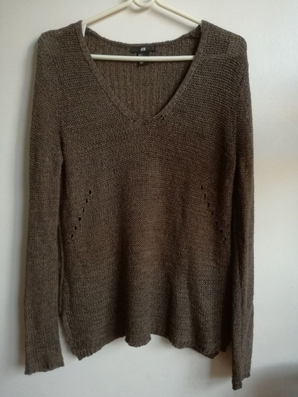 Sweater Mujer H&m Fino Talle S Impecable