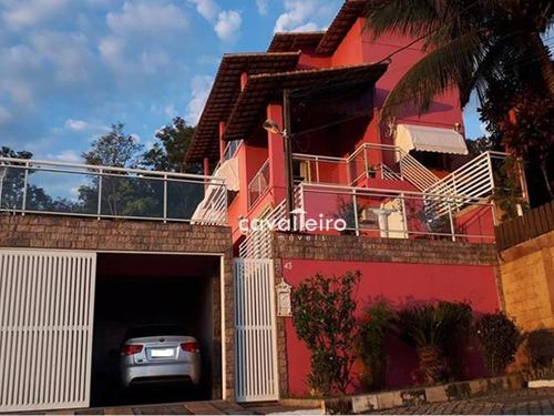 Casa Residencial À Venda, Flamengo, Maricá. - Ca3031