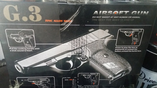 Pistola Airsoft Galaxy G3 Full Metal - Spring