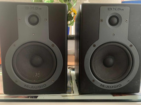 Par De Monitores Ativo M-audio Bx5a