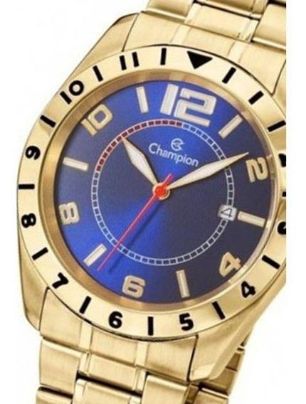 Relógio Champion Masculino Dourado - Ca30187a