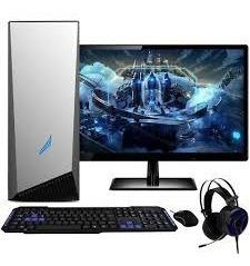 Pc Completo Gamer Com Monitor Lcd! 4gb, Wi Leia A Descrição