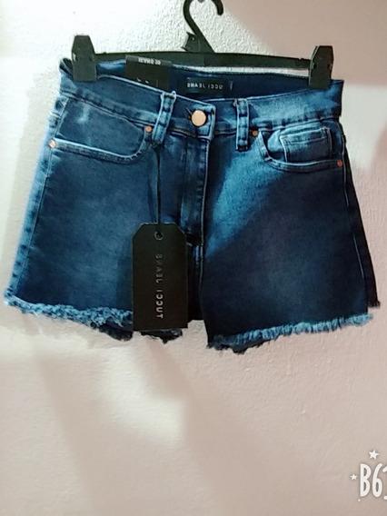 Short De Jeans Talle 26 ,28 Y 30 Elastizado