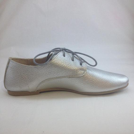 Zapato Mujer Mocasin Acordonado #2500