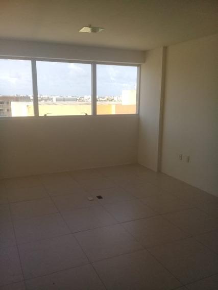Sala Comercial Com Banheiro No Aero Empresarial Com 30m² Em Lauro De Freitas - Uni250 - 33265822