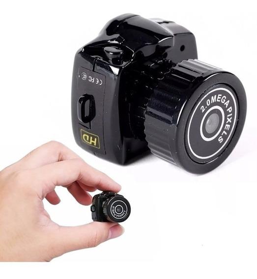 Mini Camara Espia Pequeña Microfono Oculto Seguridad Hd Foto