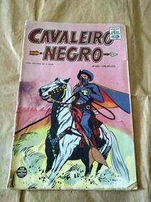Cavaleiro Negro Nº 124 - Anos 60 - Rio Gráfica - Faroeste