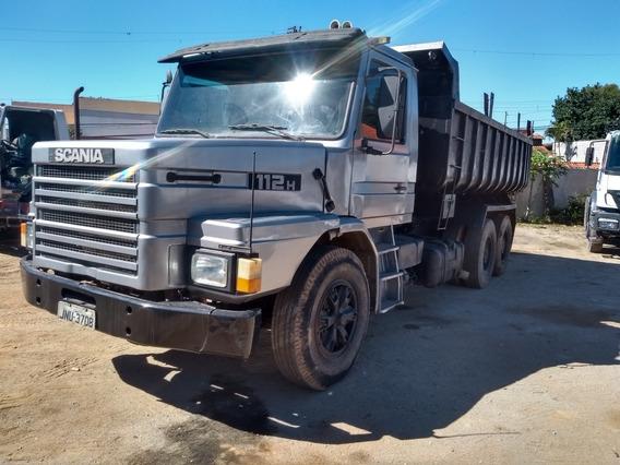 Scania 112traçada Caçamba Mecanica Boa Valor 55 Mil A Vista