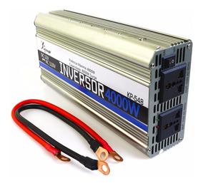 Inversor De Tensão 12v 110v 4000w Knup Kp548 Transformador