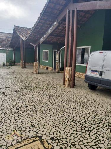 Imagem 1 de 19 de Casa Com 2 Dormitórios À Venda, 55 M² Por R$ 150.000,00 - Ocian - Praia Grande/sp - Ca0853