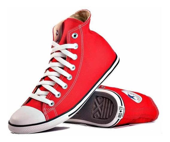 Converse Slim Hi Rojas Red ¡ Valen Oro! 119401b Envío Gratis