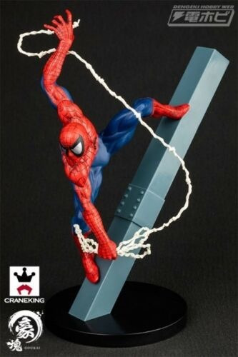 Spiderman Banpresto Statue Japão Authentic Goukai
