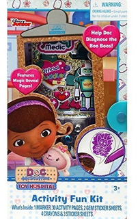 Kit De Diversion De Actividad De Disney Doc Mcstuffins Toy H