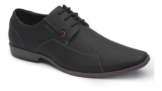 Sapato Ferracini Preto Cadarço Esporte Masculino
