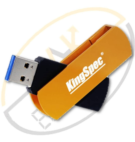 Pendrive Kingspec 128gb Usb 3.0 Original Pen Drive Flash O Mais Rápido