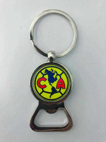 Club América Águilas Fútbol Soccer Llavero Destapador