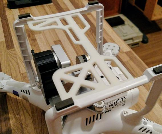 Protetor De Camera E Gimbal Drone Phantom 3 - Gimbal Guard
