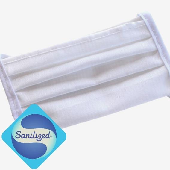 Cubrebocas Antibacterial - Reusable Lavable - Adulto 10 Pzas