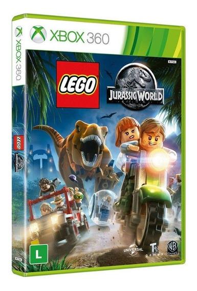 Game Lego Jurassic World - Xbox 360(mídia Física)