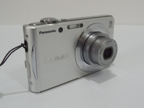 Camera Digital Panasonic Lumix Fh5 Barata Oferta +brindes