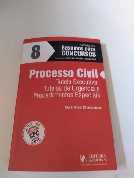Coleção Para Concursos 8 Processo Civil