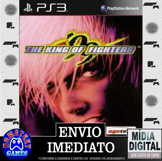 Kof 99 - The King Of Fighters 99 - Psn Ps3 Pronta Entrega
