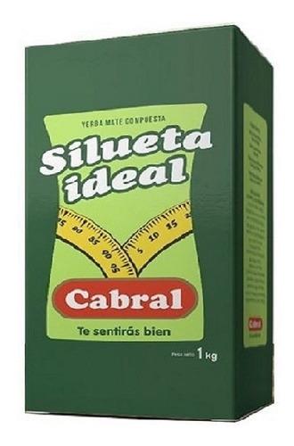 Imagen 1 de 3 de Yerba Cabral Silueta Ideal 1kg