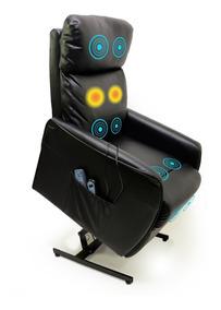 Poltrona Massageadora Com Elevação Power Papai Relaxmedic