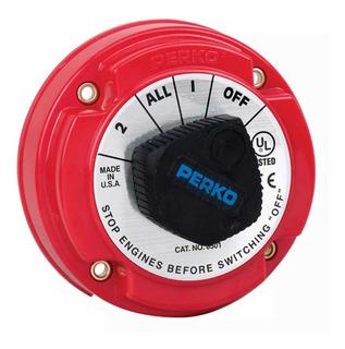 Switch Corta Corriente Selector Batería Lancha Perko 8501dp