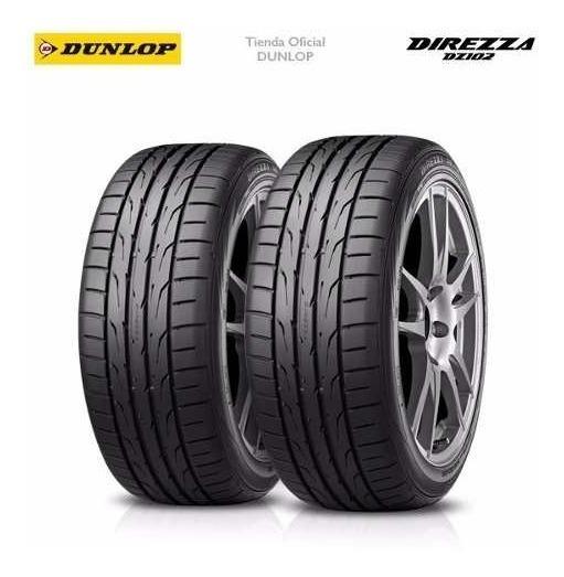 Kit X2 195/50 R16 Dunlop Direzza Dz102 + Tienda Oficial