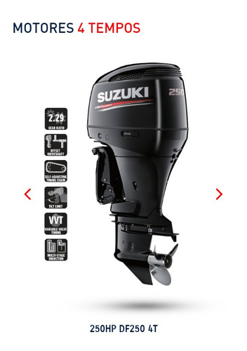 Imagem 1 de 1 de A Motor De Popa Suzuki 250 Hp 4t. Injeçao Okm 18 Vezes !