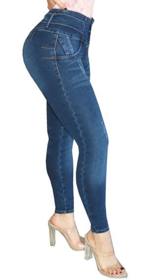 Umarah® Jeans Dama Mezclilla Stretch Push Up Stone So59
