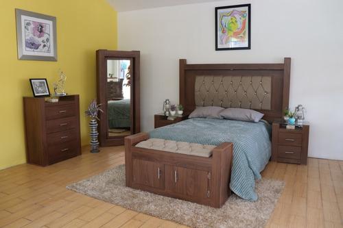 Imagen 1 de 3 de Recámara Ximena 6 Piezas  Multi Size