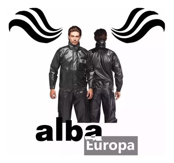 Capa De Chuva Pvc Europa Alba Motoqueiro Unisex