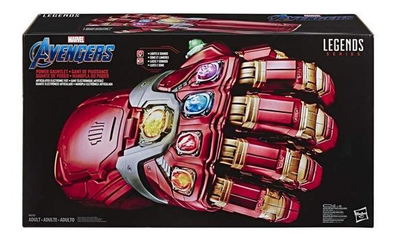 Guantelete Del Infinito De Poder Marvel Legends Hasbro Nuevo