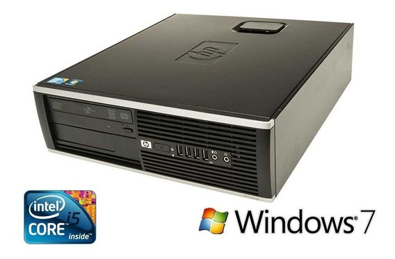 Cpu Hp Elite Core I5 / 4g Ddr3 / Hd 500 / Dvd + Windows