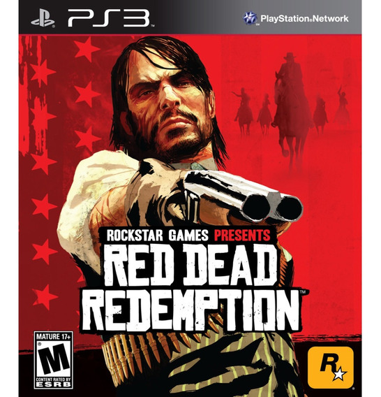 Red Dead Redemption Ps3 Psn Jogo De Play 3 Game Ps3 Play3