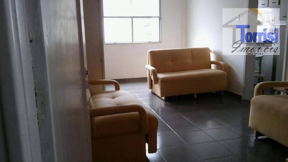 Kitnet Em Praia Grande, Sala, Cozinha, Wc Social. Prédio Com Garagem No Boqueirão Kn0119 - Kn0119