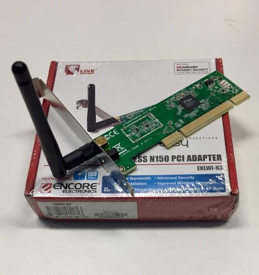 Placa Red Wireless Encore Enlwi-n3 Envios En El Flex Gratis