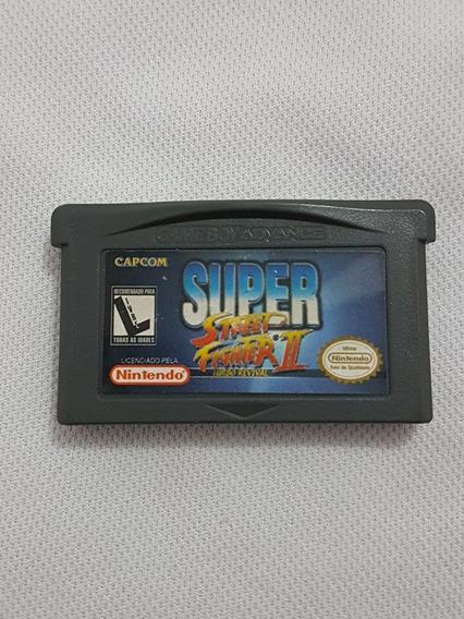 Super Street Fighter 2 Original P/ Nintendo Game Boy Advance